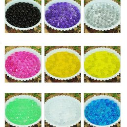 Wholesale 9000g bag Magic Plant Crystal Soil Mud Water Beads Pearl ADS Jelly Crystal ball soil b