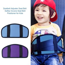 Seat belt Safety coverS kidS online shopping - Child Seat Belt Adjustment Holder Car Anti Neck Neck Baby Shoulder Cover Seat Belt Positioner Child Seatbelt For Kids Safety