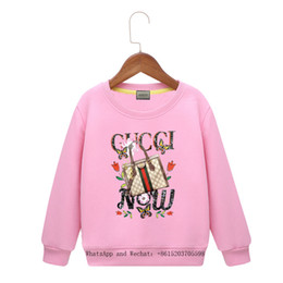 Wholesale sweaters unisex online – oversize Children s Clothes Cartoon Spring New Pattern Male Girl Sleeve Head Sweater Colors Hoody Baby Clothing Boys brand Hoodie