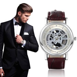 $enCountryForm.capitalKeyWord Australia - 2019 New Hollow Watch wholesale Brand Quartz Watch Men Luxury Man Hot Fashion Out Skeleton Relogio masculino drop ship
