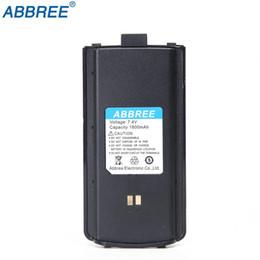 ar batteries 2019 - Original Abbree Walkie Talkie 7.4V 1800mah Li-ion Battery For Abbree AR-F6 Series Two Way Radio battery Accessories chea