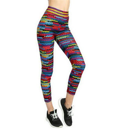 $enCountryForm.capitalKeyWord UK - New Women Striped Printed Yoga Pants Push Up Running Tights Sport Leggings High Waist Gym Leggings Workout Execise Pants
