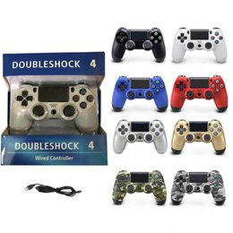 $enCountryForm.capitalKeyWord Australia - Premium For PS4 USB Wired Connection Game Gamepad Controller For SIXAXIS Playstation 4 Control Game Joysticks