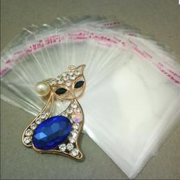 $enCountryForm.capitalKeyWord Australia - Hot Sale 7cmx12cm OPP Transparent Jewelry package Bag Self Adhesive Seal Plastic Bags Clear Cellophane Bag Gift package Bag