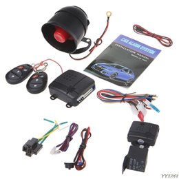 $enCountryForm.capitalKeyWord Australia - ACC ON 1-Way Car Vehicle Burglar Alarm System Keyless Entry Security System w  2 Remote 3V Silent arming-Y162