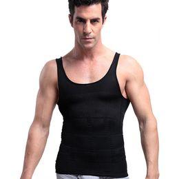 ae064f2a3 Men Slim Body Tops Shaper Slimming Breathable Cincher Shapewear Corset For  Men Belly Tummy Shapers Vest Body Male Shapewear 2019