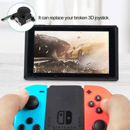 rose thumbs NZ - For Switch JOY-CON NS Left Right Handle Rocker Thumb Stick Rocker Joystick Analog Controller Repair 3D For Nintendo Switch