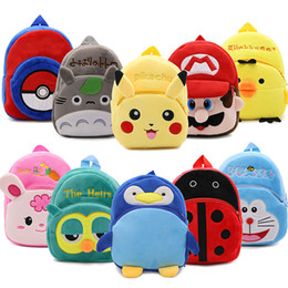 toddler boys gifts Australia - Kids 3D Animal Backpacks Baby Girls Boys Toddler Schoolbag Children Cartoon penguin Bookbag Kindergarten Toys Gifts School Bags