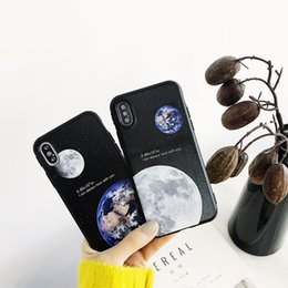 $enCountryForm.capitalKeyWord Australia - Moon Phone Cases For iPhone 6 6s 7 8 Plus X Xs Drop-resistant Dirt-resistant Shockproof Anti-scratch Unique Attractive Fancy Shell Covers