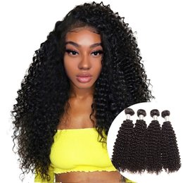 $enCountryForm.capitalKeyWord Australia - Afro Kinky Curly Human Hair Bundles Unprocessed Virgin Peruvian Hair 4 Bundles Deal Peruvian Kinky Curly Hair Extensions Wholesale