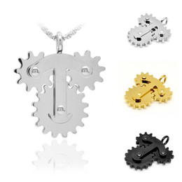 $enCountryForm.capitalKeyWord Australia - Hot Sale Steampunk Nice Pattern T Pendant with Various Gears DIY Mechanical Gothic Unisex Chain Necklace Vintage Jewelry For Man Women Gift