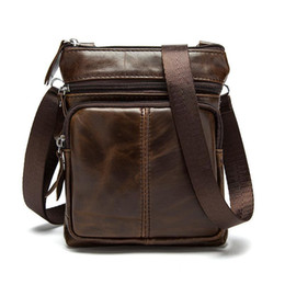 $enCountryForm.capitalKeyWord Australia - Nice Direct Trend Satchels Pop Korean Version Of Leather Mens Bag Vertical Head Layer Single-shoulder Zipper Oblique Satchel