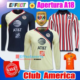 397f7b0d0af Long sLeeve mx jerseys online shopping - Perfect Long Sleeve Mexico LIGA MX  Club America Soccer