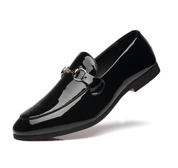 $enCountryForm.capitalKeyWord Australia - Soft Leather men leisure dress shoe part gift doug shoes Metal Buckle Slip-on man lazy falts Loafers Zapatos 37-48