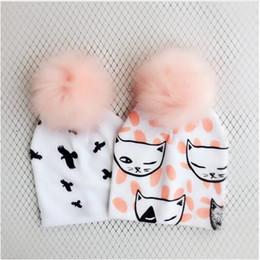 Boys Skull Hats Australia - Fashion Newborn Baby set Children Hat Cap for Girls Boy Baby Born Care Infant Toddler Hats Bonnet Skull Beanies props for Kids
