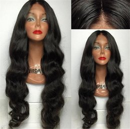 Wet Brown Australia - 8A Brazilian Wet and Wavy Full Lace Human Hair Wigs For Black Women Glueless Natural Water Wave Lace Front Wigs With Baby Hair