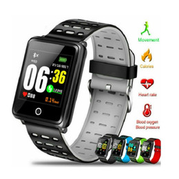 movement camera NZ - F3 Color Screen Smart Bracelet Heart Rate Health Monitor For IOS Android Track Movement IP68 Waterproof Health Watch