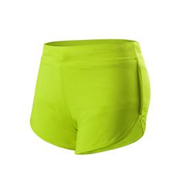 $enCountryForm.capitalKeyWord Australia - drawstring compression shorts women with pocket sports wear for women gym solid yoga shorts