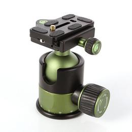 "$enCountryForm.capitalKeyWord Australia - Accessories Tripod Heads Professional 20KG Metal Heavy Duty Camera Tripod Ball Head w  QR Quick Release Plate 1 4\""Screw SYS-90"