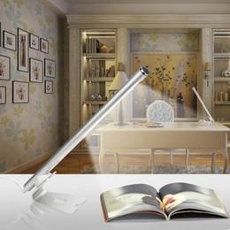 $enCountryForm.capitalKeyWord Australia - Flute LED Desk Lamp Flexible Clip Table light High Bright Touch Bedside Lamp For Reading Book Study Office Bedroom Home Lighting