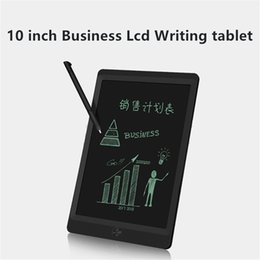 Language Learn Tablet UK - 10 inch LCD Business Writing Tablet Lcd writing board Business Notepad Handwriting Pads Memo With Upgraded Pen DHL free