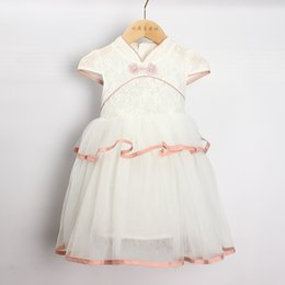 $enCountryForm.capitalKeyWord Australia - 2019 Lace Formal Evening Wedding Gown Tutu Princess Dress Girls Children Clothing Kids Party For China Style 3 -7 Years Children Clothes