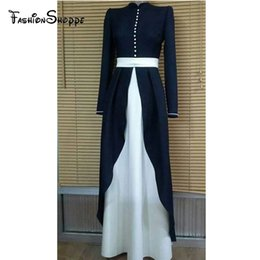 90e2e28ad0e Modest Clothes Australia - S-2XL Womens  Elegant Modest Muslim Islamic Arab  Dubai Clothing