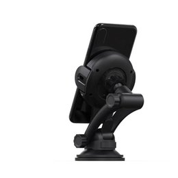 android phones samsung UK - w5 Automatic Clamping Wireless Car Charger 10W w5car For iphone Android Air Vent Phone Holder 360 Degree Rotation Charging Mount Bracket