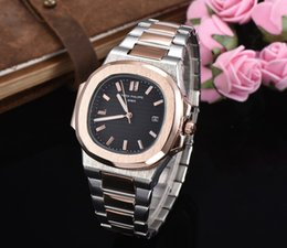 $enCountryForm.capitalKeyWord Australia - Luxury Watch Men Nautilus Sports Automatic Monement Watches Rose Gold Case Brown Dial Stainless mens Mechanical Wristwatches