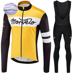 anti thermal clothing 2019 - Morvelo Winter Men Thermal Fleece Cycling Jersey Sets Cycling Clothing Bike Jersey Bicycle Wear MTB Sportswear cheap ant