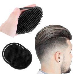 $enCountryForm.capitalKeyWord Australia - 1 PCS Shampoo Comb Pocket Men Beard Mustache Palm Scalp Massage Black Hair Care Travel Portable Hair Comb Brush Styling Tools