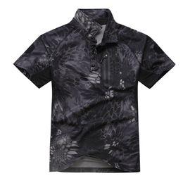 $enCountryForm.capitalKeyWord Australia - Shanghai Story Men's Tactical Army Hunting Polo Shirt Short Sleeve Top