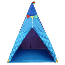 indoor toys baby UK - Children Tent Toys Indoor Traveling Foldable Kids Princess Tent Waterproof Play Camping Teepee for Baby Playing Ball Pool Tent