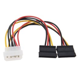 Female sata converter online shopping - 4pin IDE Molex to Serial ATA SATA HDD Hard Drive Power Supply Cable Adapter Male to Female Cord Y Splitter Wire Converter