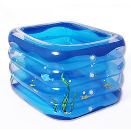 $enCountryForm.capitalKeyWord UK - 4 Ring Transparent blue Children inflatable pool baby paddling pool children family inflatable pool bath tub
