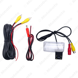 reversing camera toyota corolla Australia - wholesale Car Rear View Camera with LED light For Toyota Corolla E120 E130 Reiz(2010~2012) Vios(03~08) Reversing Parking Camera #4103