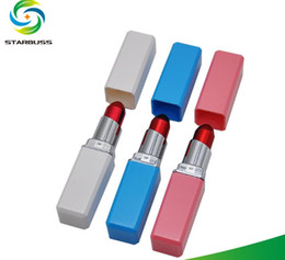 $enCountryForm.capitalKeyWord Australia - Metal aluminium lipstick pipe filter pipe lightweight portable mini-smoke
