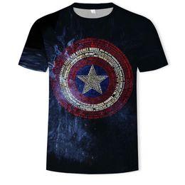 Superhero ShieldS online shopping - Fashion Men T Shirts d Captain America Distressed Shield Logo Marvel Comics Adult Shirt d T Shirts Superhero America Top Size S XL