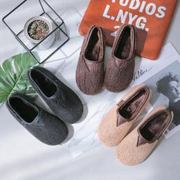 $enCountryForm.capitalKeyWord Australia - Pedal Bottom Flat One Honor2019 Dawdler Baby Woman Cotton-padded Mature Keep Warm Non-slip Will Code Women's Shoes