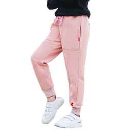 $enCountryForm.capitalKeyWord UK - 2018 Fall Girl Pants Athletic Letter Pants Girl School Kid Clothes Child and Teen Trousers Baby Girl Clothes