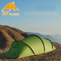 $enCountryForm.capitalKeyWord NZ - 3F UL GEAR 2 Person 4 Season Camping Tent Anti-Snowstorm Tunnel Tents Ultrlight Camp Tente