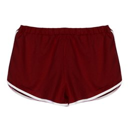 $enCountryForm.capitalKeyWord Australia - New women's girls cotton blend elastic waist best sports shorts 160629 drop shipping welcome wholesalers purchase