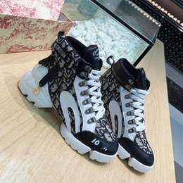 Wholesale High-top ladies Luxury Fashion basketball Sneakers leather Net surface women Casual shoes Trainers shoes running outdoor shoes With box