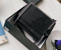 Toptan satış SUNSET tasarımcı lüks çanta çanta Y Timsah çanta moda Kadın crossbody kadınlar lüks USguci totes sözleşmeli