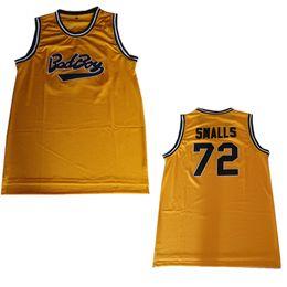 Small Short men online shopping - 72 Biggie Smalls Jersey Notorious B I G Stitched Bad Boy Basketball Jersey Men