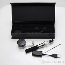 $enCountryForm.capitalKeyWord NZ - Glass Globe Atomizer Gift box Electronic Cigarettes eGo-T Starter kit Bulb Atomizer wax dry herb Vaporizers Clearomizer vape pens
