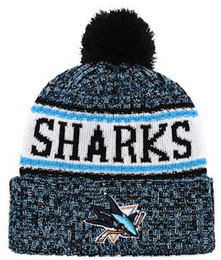 6a87881d912 Winter Cold Cap Australia - SHARKS Beanie Sideline Cold Weather Graphite  Official Revers Sport Knit Hat
