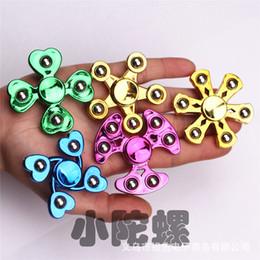 $enCountryForm.capitalKeyWord Australia - New galvanized steel ball Finger spinners student finger six beads Finger spinners children's toy factory wholesale 222