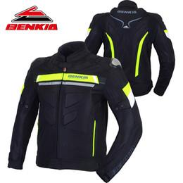 $enCountryForm.capitalKeyWord NZ - BENKIA Motorcycle Windproof Jacket Motorcycle Men Moto Motocross Racing Jacket Detachable Windproof Liner Moto Protection JW29