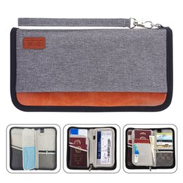 passport ticket case Australia - Travel Wallet,RFID Blocking Family Passport Holder Carry Storage Case Passport Holder Cash Document Organizer for Cards Tickets